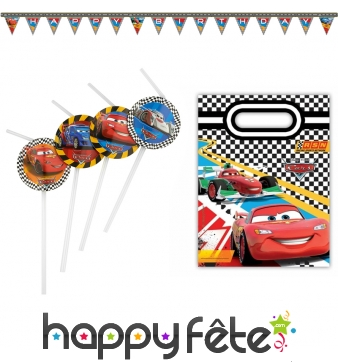 Décorations Cars RSN d'anniversaire