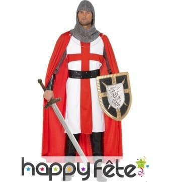 Déguisement chevalier saint georges
