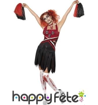 Déguisement cheerleader zombie