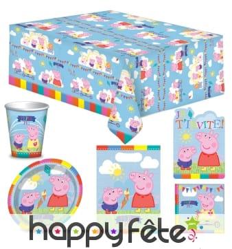 Décorations d'anniversaire Peppa pig