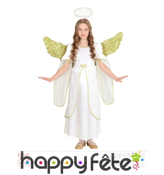 Déguisement d'ange pour fillette