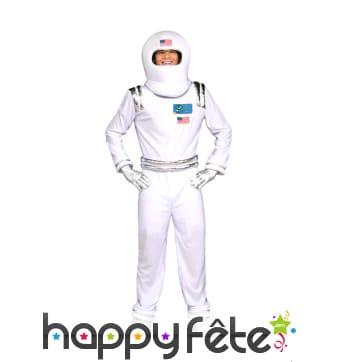 Déguisement d'astronaute américain