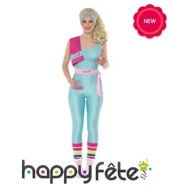 Déguisement de Barbie Fitness pour femme
