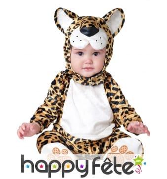 Déguisement de bébé léopard