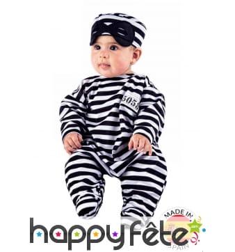 Déguisement de bébé prisonnier