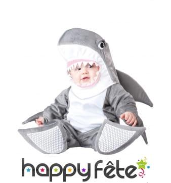 Déguisement de bébé requin