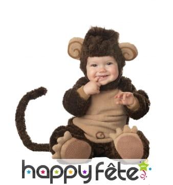 Déguisement de bébé singe