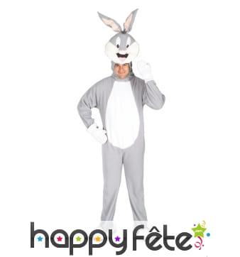Déguisement de Bugs Bunny pour adulte