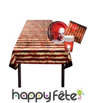 Décoration de cirque halloween pour table