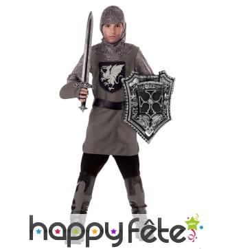 Déguisement de chevalier combattant pour enfant