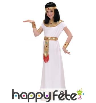 Déguisement de Cléopâtre pour petite fille