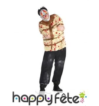 Déguisement de clown en camisole pour homme