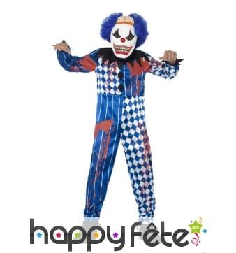Déguisement de clown maléfique pour enfant