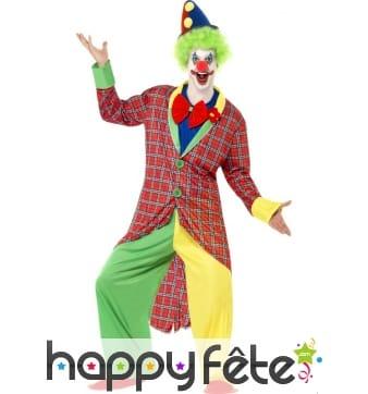 Déguisement de clown, noeud papillon