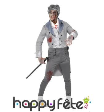 Déguisement de compte zombie