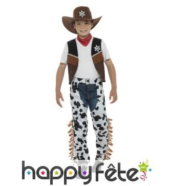 Déguisement de cowboy texan pour enfant