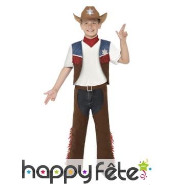 Déguisement de cowboy Texas pour enfant