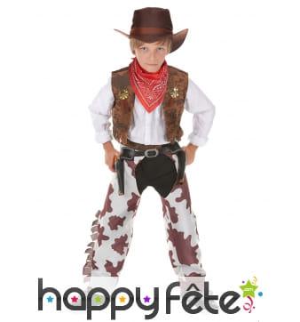Déguisement de cowboy vachette pour garçon