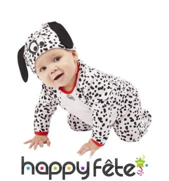 Déguisement de dalmatien pour bébé