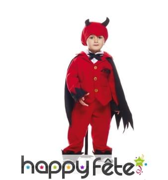 Déguisement de diable rouge pour tout petit