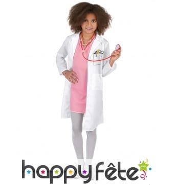 Déguisement de doctoresse pour enfant