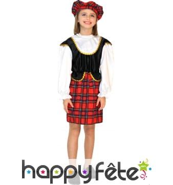 Déguisement d'ecossaise pour enfant