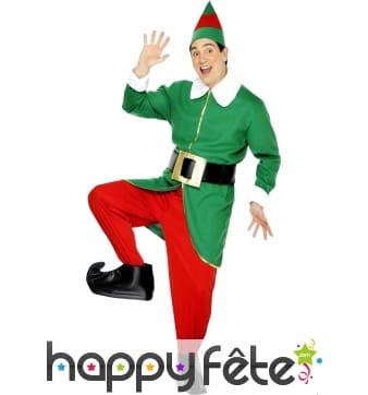 Déguisement d'elfe de Noël