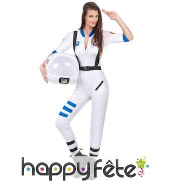 Déguisement de femme astronaute