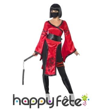 Déguisement de femme ninja de l'ombre