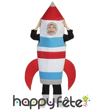 Déguisement de fusée pour enfant