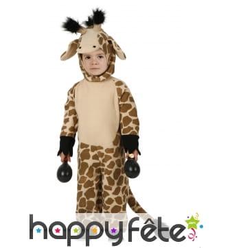 Déguisement de girafe pour enfant