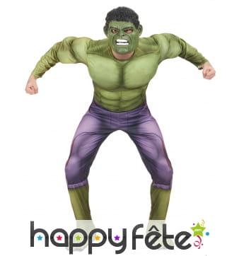 Déguisement de Hulk 2 pour homme, luxe