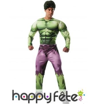 Déguisement de Hulk musclé pour homme