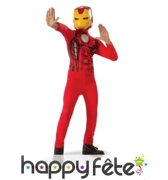 Déguisement de Iron Man enfant, modèle classique