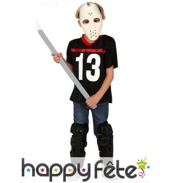 Déguisement de Jason vendredi 13 pour enfant
