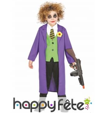 Déguisement du Joker de Batman pour enfant