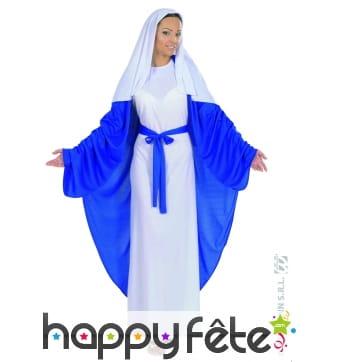 Déguisement de la vierge marie