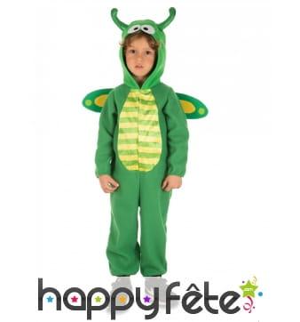 Déguisement de libellule verte pour enfant