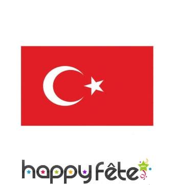 Drapeau de la Turquie de 90 cm x 1.5 m