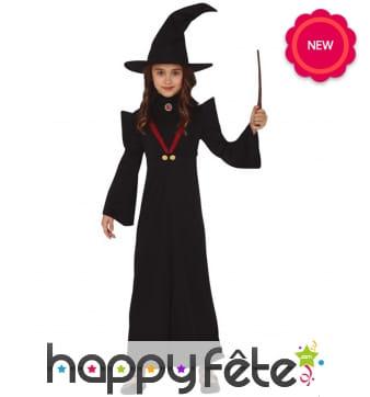 Déguisement de magicienne pour enfant