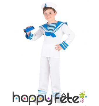 Déguisement de marin pour petit garçon