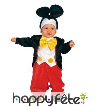Déguisement de Mickey pour bébé