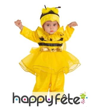 Déguisement de mini abeille en tutu pour bébé