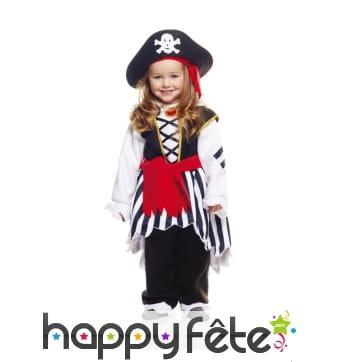 Déguisement de mini pirate pour enfant