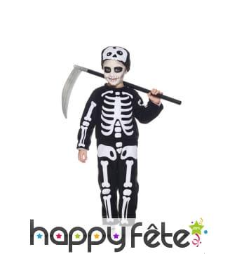 Déguisement de mini squelette