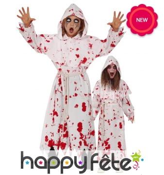 Déguisement de moine zombie pour enfant