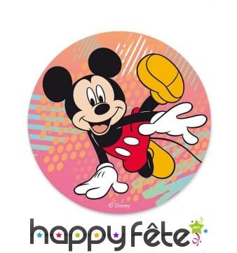 Disque de Mickey break dance en azyme de 20cm
