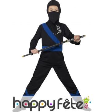 Déguisement de ninja assasin pour enfant