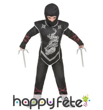 Déguisement de ninja dragon pour petit garçon