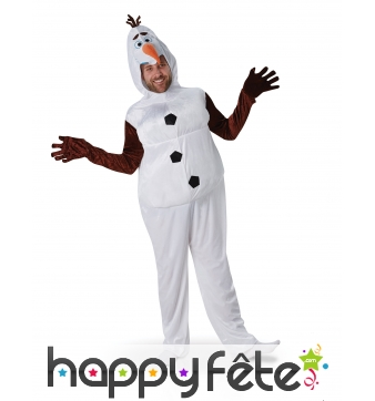 Déguisement de Olaf pour adulte